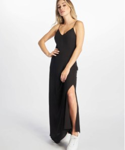 Only Frauen Kleid onlCana Strap Open Back in schwarz