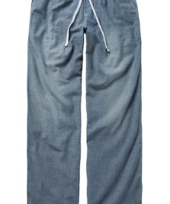 Ulla Popken Schlupfhose, Jeans-Optik, Gummibund mit Kordel - Große Größen 708118