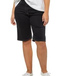 Ulla Popken Bermuda, extraweich, konisches Bein, 5-Pocket-Form - Große Größen 716235