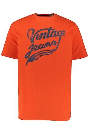 Ulla Popken T-Shirt, Vintage Jeans, Halbarm - Große Größen 720156