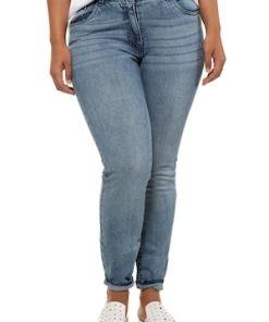 Ulla Popken Skinny Jeans, 5-Pocket Form - Große Größen 721695