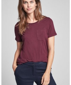 T-Shirt Tessa in Bordeaux