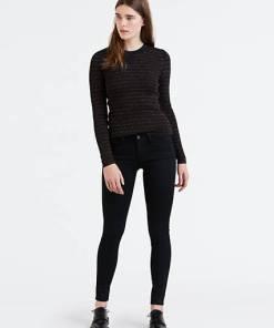 710™ Innovation Super Skinny Jeans - Schwarz / Black Galaxy