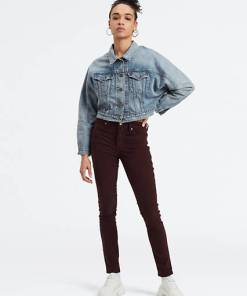 721™ High Waisted Skinny Jeans - Rot / Malbec Luxe Cord