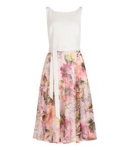 Vera Mont Sommerkleid mit Blumenprint in Patch White/Pink , Floral , Feminin