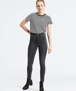Mile High Super Skinny Jeans - Grau / Smoke Show