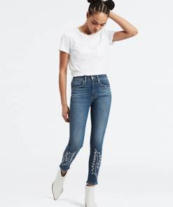 721™ High Waisted Skinny Ankle Jeans - Mittlere Waschung / Indigo