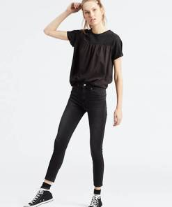 721™ High Waisted Skinny Ankle Jeans - Schwarz / Alter Ego
