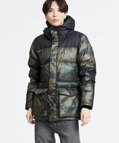 Down Puffer Parka - Neutral / Phalarope