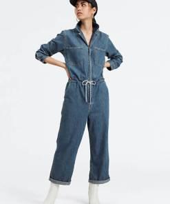 Luella Jumpsuit - Mittlere Waschung / Indigo