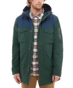 VANS Revere Mte Jacke (darkest Spruce/dress Blues) Herren Grün, Größe L