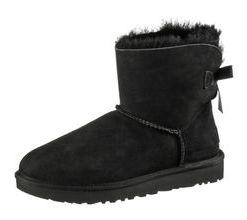 Ugg Mini Bailey BOW II Stiefel Damen in black, Größe 40