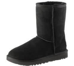 Ugg Classic Short II Stiefel Damen in schwarz, Größe 36