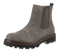 TOM TAILOR Chelsea Boots grau