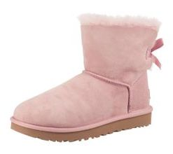 UGG Winterstiefeletten 'Mini Bailey Bow' hellpink