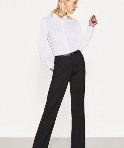 Esprit Collection Business-Stretchhose mit geradem Bein schwarz