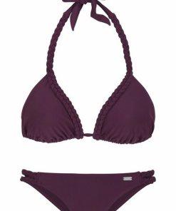 Buffalo Triangel-Bikini mit geflochtenen Details rot