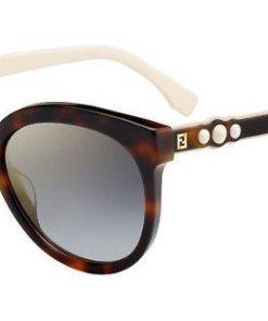 FENDI Damen Sonnenbrille »FF 0268/S« braun