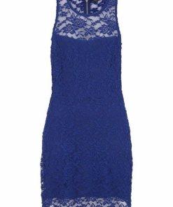 LASCANA Spitzenkleid blau