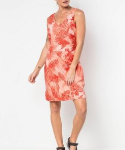 Jack Wolfskin Sommerkleid »WAHIA PALM DRESS« orange