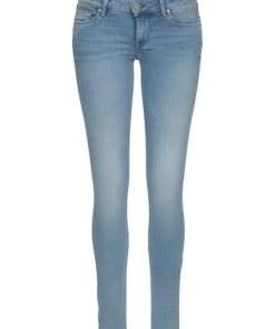 Pepe Jeans Skinny-fit-Jeans »SOHO« mit Stickerei auf Backpocket blau