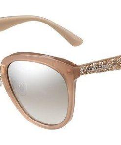 JIMMY CHOO Damen Sonnenbrille »CADE/F/S« braun