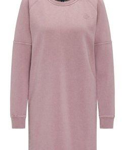 Dreimaster Sweatkleid rosa