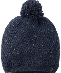Jack Wolfskin Strickmütze »MERINO CAP WOMEN« blau