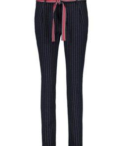 GERRY WEBER Hose Freizeit lang »Hose mit Nadelstreifen« blau