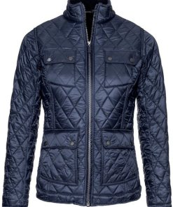 Barbour Steppjacke Filey blau