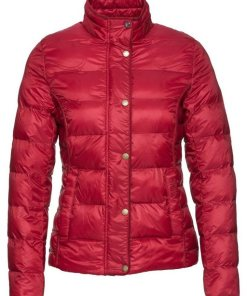 Barbour Steppjacke Gondola rot