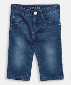 Esprit 3/4 Stretch-Jeans mit Verstellbund blau