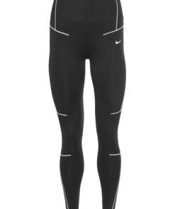 Nike Funktionstights »WOMAN NIKE STRAIGHTFORWARD ZIGZAG TIGHT« schwarz