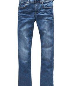 G-Star RAW Bootcut-Jeans »Midge Mid Bootcut« mit Stretch blau
