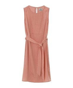 Lexington Plisseekleid »Katie Plisse Dress« rosa
