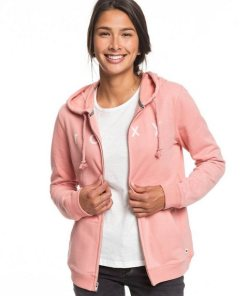 Roxy Kapuzensweatjacke »Cosmic Nights« rosa