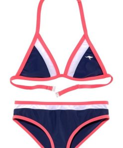 KangaROOS Triangel-Bikini (2 St) im coolen Colorblocking-Design