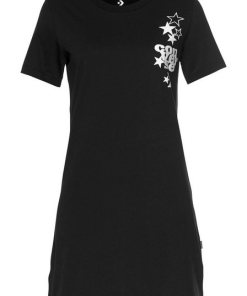 Converse Shirtkleid »CONVERSE WOMENS LEFT CHEST ICON REMIX TEE DRESS«