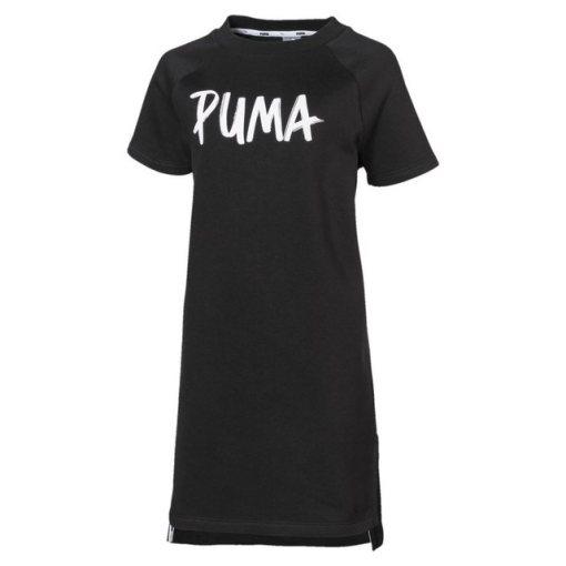 PUMA Sweatkleid »Alpha Mädchen Kleid« schwarz