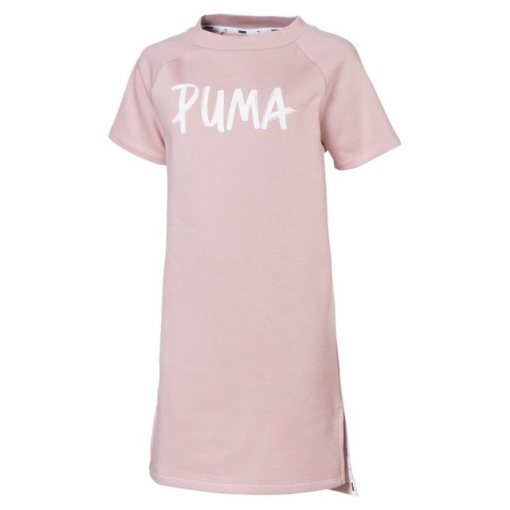 PUMA Sweatkleid »Alpha Mädchen Kleid« rosa