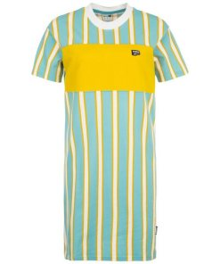 PUMA Shirtkleid »Downtown Stripe Dress«