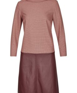 Daniel Hechter Modisches Kleid in leichter A-Linien-Form rot