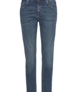 Replay Boyfriend-Jeans »MARTY« mit leichten Used-Effekten blau