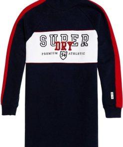 Superdry Sweatkleid »FUNNEL SPORTY SWEAT DRESS« im Colorblocking-Design