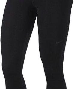 Nike Funktionstights »Nike Pro Women's Printed Tights« Flockprint am Bund schwarz