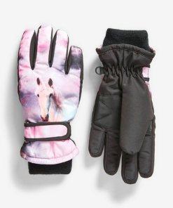 Next Ski-Handschuhe schwarz