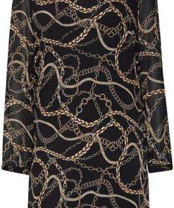 Esprit Collection Blusenkleid mit tollem Cut-Out am Hals