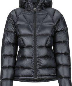 Marmot Outdoorjacke »Hype Daunen Kapuzenjacke Damen« schwarz