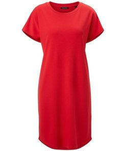 Marc O'Polo Jerseykleid rot