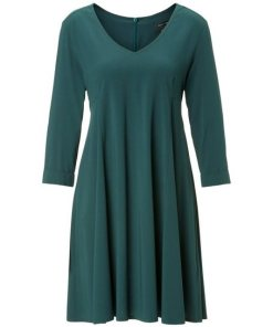Marc O'Polo A-Linien-Kleid grün
